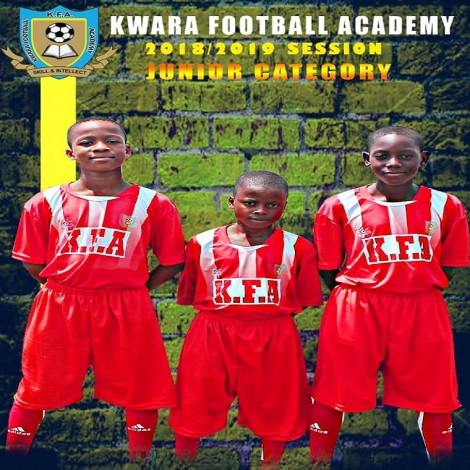 KWARA FOOTBALL ACADEMY 2018-2019 JUNIOR CATEGORY